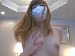 cute small tits masked girl 2