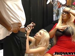 Black dick was too big for Piper Perri's small holes