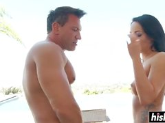 Sexy Sabrina gets an amazing pounding
