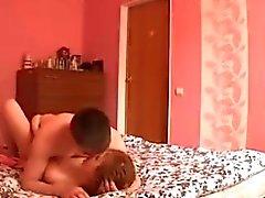 Lustvolles Teen Paar