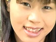 J15 Japanese shy teen shows pussy
