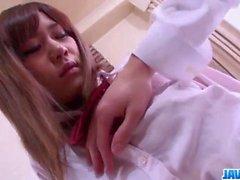 Naughty creampie porn with sexy Nozomi Kahara
