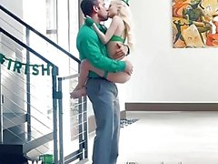 Passion-HD - Petite blonde Piper Perri fucks on St-Patrick's Day