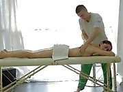 Aruna is in to get her first ever oil massage and boy, is