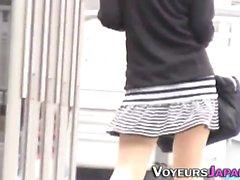 Teen gets filmed upskirt