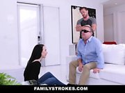 FamilyStrokes - Fucking Next to Blind Dad