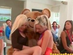 Hot Girls Lez Out for the Dancing Bear