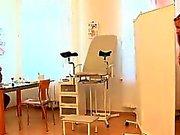 Old doc does kinky gyno examination