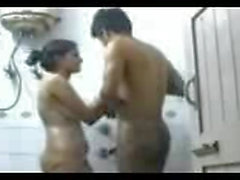 indian couple shower