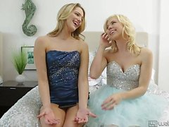 Lusty Blondes Tara Morgan And Kenna James