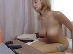 Teens boobs masturbation