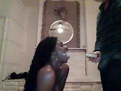 Amateur Sweet Afro Ebony Black Teen Pussy Licked