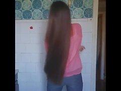 Super Long Haired Brunette, Long Hair, Hair