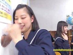 Jav Schoolgirls Suck The Glory Hole Idol Teens Deep Throat Through The Desk