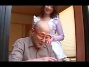 Japanese Milf Seduces Somebody's Grandfather Uncensored