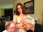Young wife black and big tit milf threesome with friend Minn
