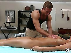 Wild massage and toy playing