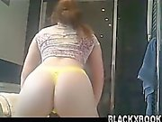 White girl twerk that ass - blackxbook-com.
