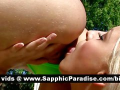 Sensual redhead and blonde lesbians pussy licking and having lesbian sex