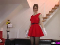Amateur teenager pounded