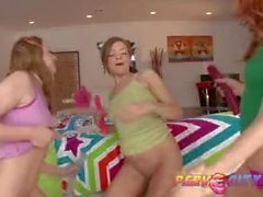 PervCity Teen Sleepover Gets Nasty