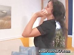 Amazing french teen gf rough fucked part5