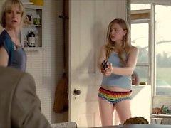 chloe moretz rainbow panty