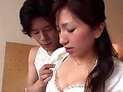Japanese schoolgirl gets fingered and drilled hard