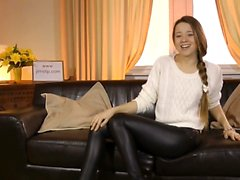UK teen beauty drilled in POV by old man