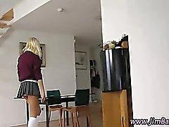 Teen amateur schoolgirl brit