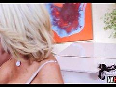 Big Tits MILF Rides Young Cock Tara Holiday