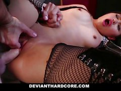 Cute Asian Teen Gets Dominated