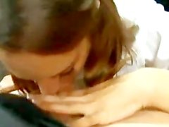 slutty schoolgirl amber rayne does 10 men