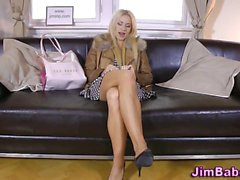 Pov teenager rammed old