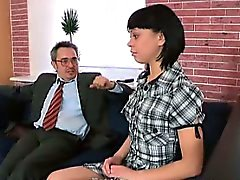 Sonia wants her teacher to cum inside her mouth and make