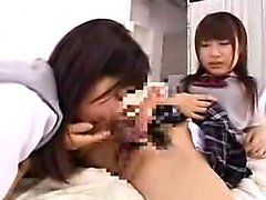 Wild Asian schoolgirls use their new sex toys to fulfill th