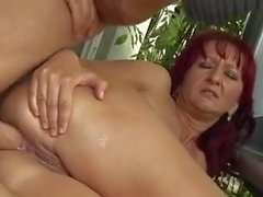 Hungarian Mature Anal And Piss Sex