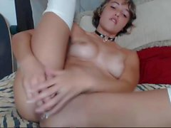 Pretty Teen Masterbating So Hard