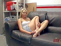 Blonde Teen hottie Mia Malkova has arousing interview