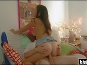 Raquel munches her step-brother's hard shaft