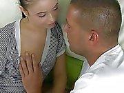Teen getting gaped