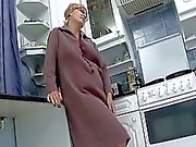 Nasty grandma turns into cum hungry whore for sweet young cock