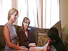 Mature Women Giving A Handjob