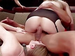 Young Anal Slaves Inspire Hard Cocks