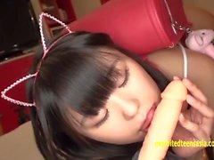 Jav Teen Reina Tsukimoto Teases In Girl Kini Then Flashes