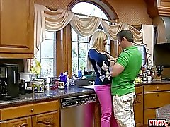 Karen Fisher has fun with toyboy and GF