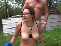 Hot milf and her younger lover 814
