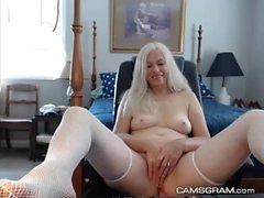 Hot Naughty Blobde Camgirl Hottie Amazing Cam Show