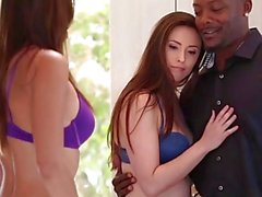 TeensLoveBlackCocks - Best Friends Share Amazing Giant BBC