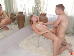 18 Videoz - Diana Dali - Teeny and her bf enjoy hot sex